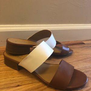 Franco Sarto double strap sandal